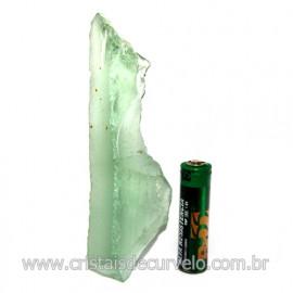 Obsidiana Verde Pedra Vulcanica Ideal P/ Coleçao Cod 119726