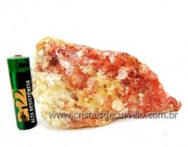 Hematoide Vermelho Pedra Natural Quartzo Cristalizado Cod 279.7