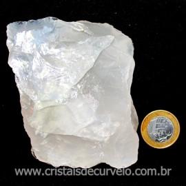 Quartzo Opalado Cristal Nevoado Pedra Natural Cod 114693