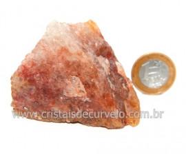 Hematoide Vermelho Natural Quartzo Cristalizado Cod 121501