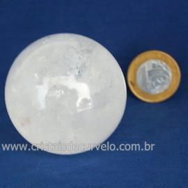 Bola Cristal Comum Qualidade Pedra Uso Esoterico Cod 121650