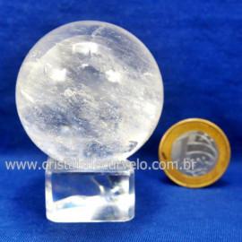 Bola Cristal Boa Qualidade Esfera Pedra Natural Cod 127546