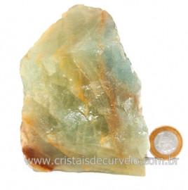 Onix Argentino ou Onix Azul Pedra Bruto Natural Cod  121507