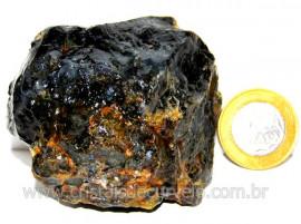 Agata Negra Pedra Bruta Natural Para Colecionador Cod AB9796