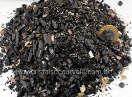 Turmalina em Pó Granulado ou Farelo de Turmalina Pedra Natural 1 kg