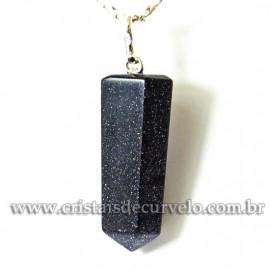 Pingente Pontinha Pedra Estrela Pino e Presilha PRATA 950 121059