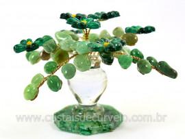 Arvore da Primavera Pedra Rolada Quartzo Verde REFF AF9182