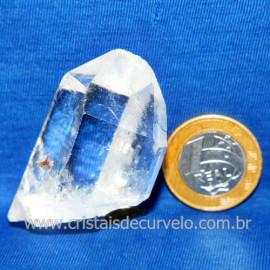 Lemuria Pequeno Quartzo Comum Cristal Lemuriano Natural Cod 119466