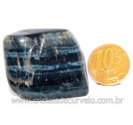 Olho de Falcão Rolado Pedra Natural Origem África Cod 123565