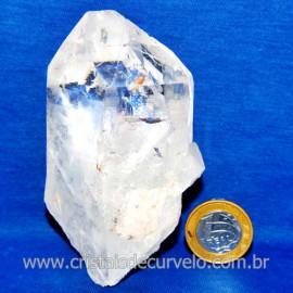 Lemuria Pequeno Quartzo Comum Cristal Lemuriano Natural Cod 119434