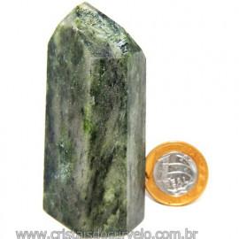 Ponta Epidoto Verde Na Matriz Ideal Para Coleção Cod 113183