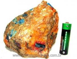 Apatita Azul Pedra na Matriz Bruta Pra Esoterismo Cod AM8675