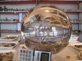 Esfera Gigante em Cristal Super Extra Transparencia 13kg