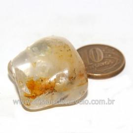 Hematoide Amarelo com Inclusão Dendrita Pedra Natural Cod 126206
