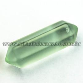 Bi Terminado OBSIDIANA VERDE Pedra Extra Lapidado Mini 2.5Cm