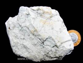 Howlita Pedra Natural De Garimpo Em Bruto Para Colecionador e Esoterismo Cod 307.6