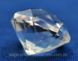 Diamante Natural Cristal Super Extra Quartzo De Garimpo Lapidação Manual Cod 71.9