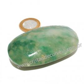Sabonete Massageador Jade Verde Pedra Natural Cod 121638