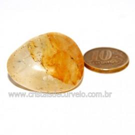 Hematoide Amarelo com Inclusão Dendrita Pedra Natural Cod 126208
