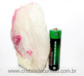 Turmalina Rosa ou Vermelha Pedra Pequena Extra Para Exoterismo Cod TR9559