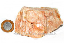 Amazonita Rosa Família Feldspato Pedra Natural Cod 103030