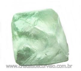 Fluorita Cubica da Mongólia Pedra Natural Pra Coleção 115905