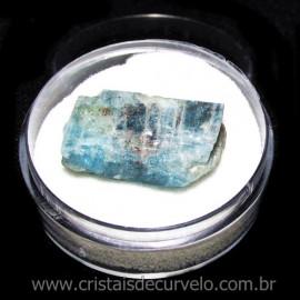 Cianita Azul Canudo No Estojo Natural de Garimpo Cod 115781