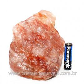 Hematoide Vermelho Natural Quartzo Cristalizado Cod 118323