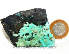Crisocola Bruto Natural Pedra Nativa do Cobre Cod 109019