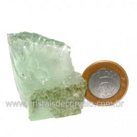 Obsidiana Verde Pedra Vulcanica Ideal P/ Coleçao Cod 128423
