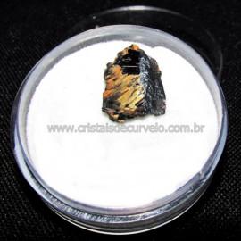 Rutilo Estrela na Matriz de Hematita No Estojo Cod 115116