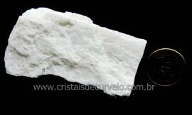 Feldspato Branco Pedra Natural De Garimpo Para Coleção Cod FB5067