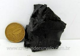 Azeviche Bruto Pedra Organica Para Esoterismo Ambar Negro Linhito Cod 69.5