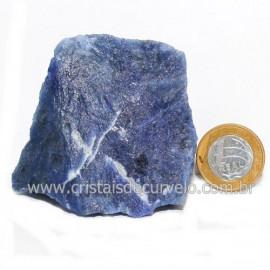 Sodalita Azul Natural de Garimpo Para Colecionar Cod 122873
