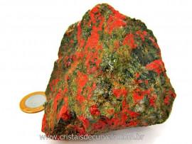 Unakita Pedra Natural De Garimpo Em Bruto Para Colecionador e Esoterismo Cod 513.7