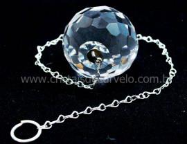 Prisma Feng Shui Medio Multifaceta Cristal Corrente Reff PF5813