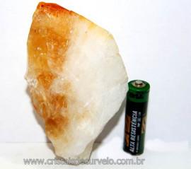 Citrino Terminado Pedra Bombardeado Mineral Bruto Cod CT7396