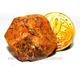 Granada Andradita Comum Mineral Para Colecionador Cod GC2891