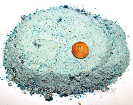 Apatita Farelo em Po Pedra pra Orgonite 1 kg Reff PA8340