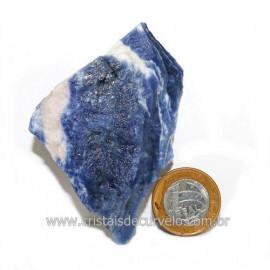 Sodalita Azul Natural de Garimpo Para Colecionar Cod 122893