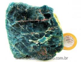 Apatita Azul Em Bruto Pedra Media  Para Esoterico ou Colecionador Cod 322.5
