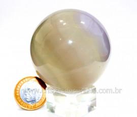 Esfera ou Bola Fluorita Multicolor Pedra Natural Cod BF3028