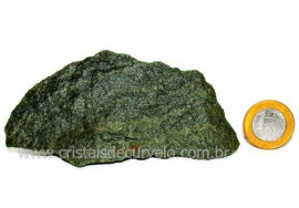 Basalto Verde Bruto Para Colecionador ou Estudante Cod BV9239