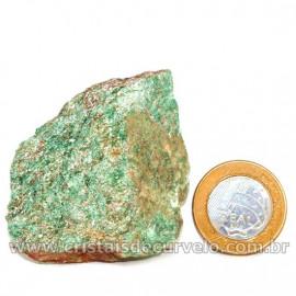 Fuxita Mica Verde Para Colecionador Pedra Natural Cod  126823