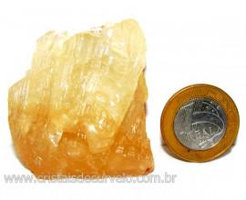 Calcita Mel Pedra Natural P/ Coleção e Esoterismo Cod 110314