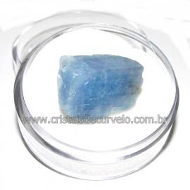 Calcita Azul do Mexico no Estojo Pedra Natural Cod 114199