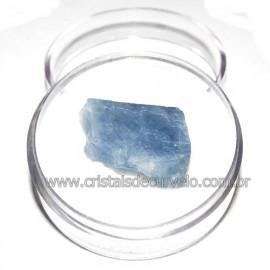 Calcita Azul do Mexico no Estojo Pedra Natural Cod 114186