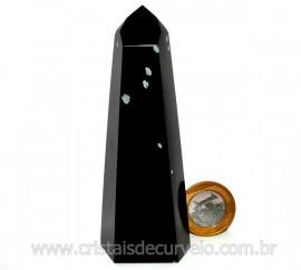 Ponta Obsidiana Flocos de Neve Mineral Vulcanico Cod PO5100