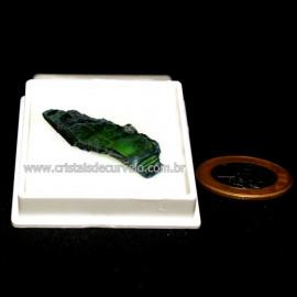 Estojo Lamina Vivianita Pedra Bruta Natural Coleção Cod 128640