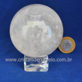 Bola Cristal Comum Qualidade Pedra Uso Esoterico Cod 121653